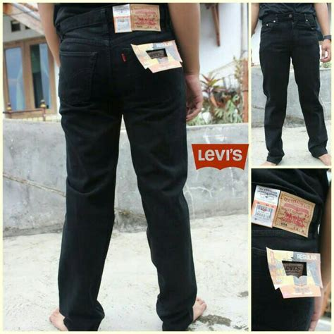 Celana Branded Levi S Levis Standar Regular Hitam Limited jual celana levi s regular fit bluesshop