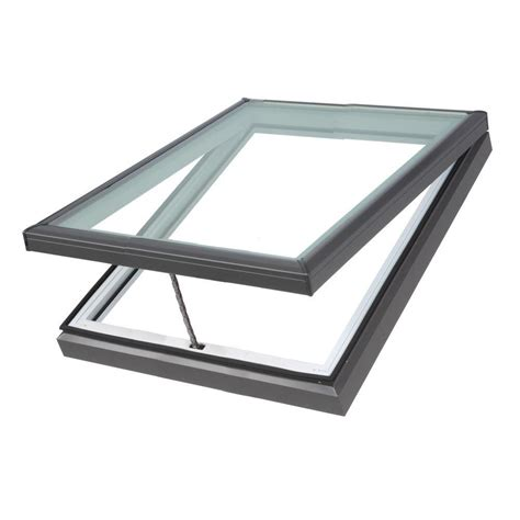 velux 21 in x 37 7 8 in fixed deck mount skylight with