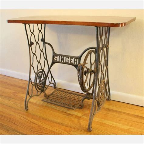 Singer Sewing Table by Vintage Singer Sewing Machine Table