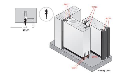 sliding doors seal dsa class 33 stc rw sliding door seal system dsa door