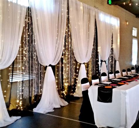renting drapes for a wedding 25 best ideas about reception backdrop on pinterest