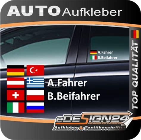 Aufkleber Mit Namen Auto by E335 Aufkleber Fahrername Name Flagge Fahne Autoaufkleber