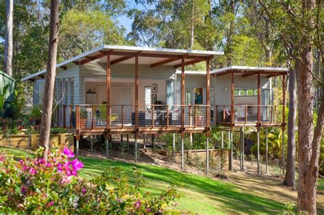 Practical And Inspiring Tree House Granny Flat In