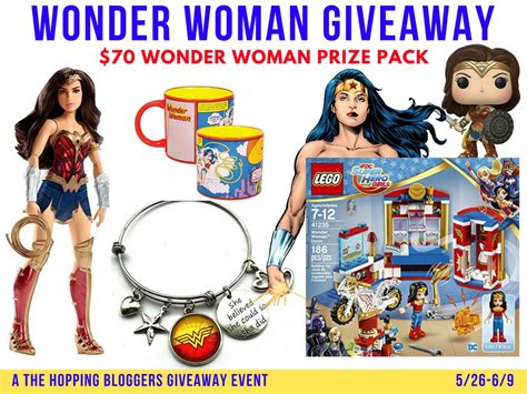 Wonder Woman Giveaway - wonder woman giveaway ever after in the woods