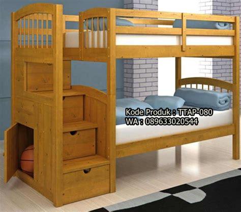 Tempat Tidur Susun Minimalis tempat tidur susun anak minimalis meja jepara