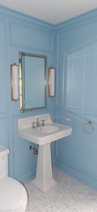 lulworth blue transitional bathroom farrow and ball