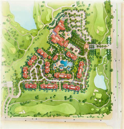 Watercolor Landscape Design Software Site Plan Renderings Genesis Studios Inc