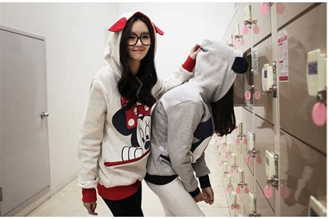 Cardigan Mickey Import womens mickey minnie mouse ear sweater shirt jumper hoodie hooded ebay