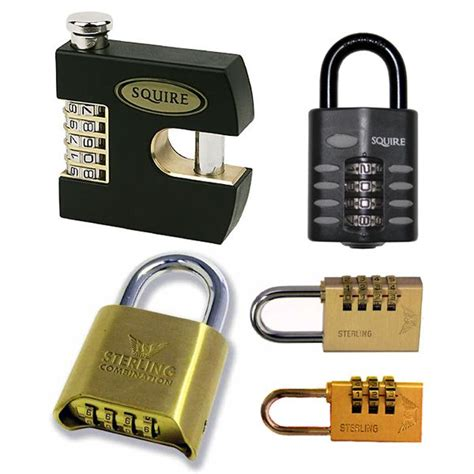 Types Of Combination Locks - types of padlocks from insight security