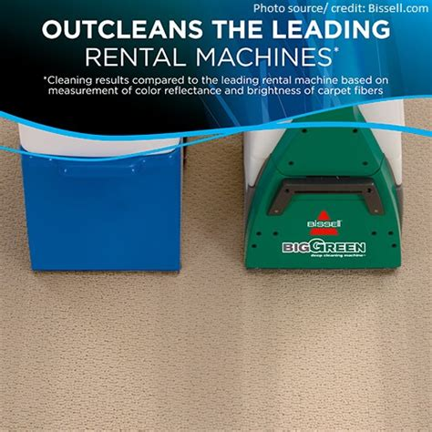 Carpet And Upholstery Cleaning Machines Reviews by Bissell Big Green Cleaning Machine 86t3 Review