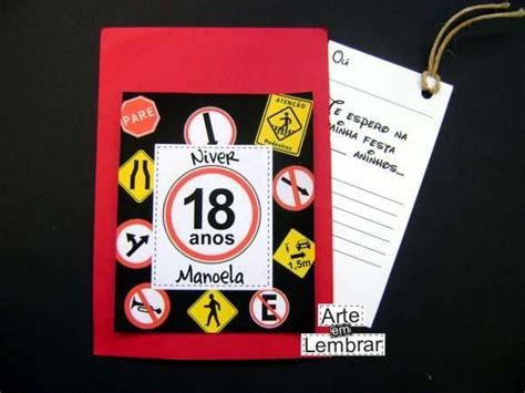 modelos de convite de aniversario para meninos 18 anos convite scrapbook 18 anos arte em lembrar elo7