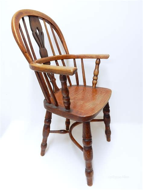 childs armchair child s windsor hoopback armchair antiques atlas