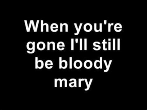 bloody lyrics gaga bloody with lyrics