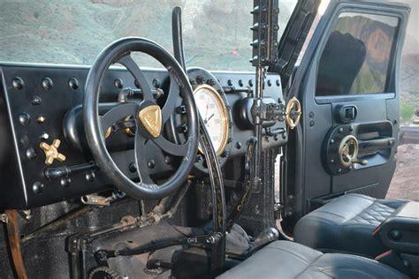 hauk designs steam jeep steam powered jeep jk 6x6 loco hauk hiconsumption