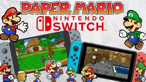 How To Make Paper Mario - paper mario for nintendo switch is it happening