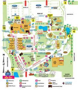Florida State Fairgrounds Map by South Florida Fair