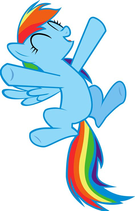 Jump Happy Ms happy rainbow dash by marcosms88 on deviantart