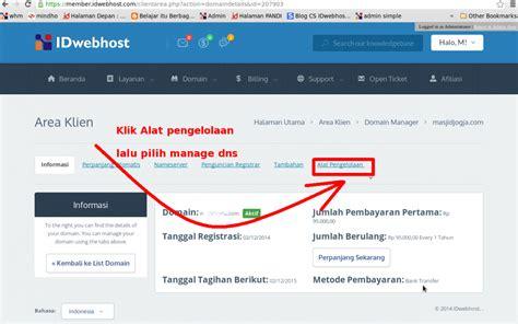 tutorial blogger tutorial setting url forwarding blog idwebhost