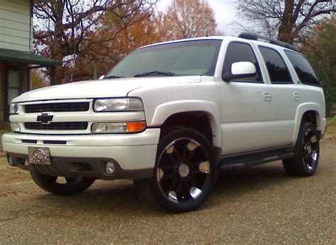 blackownblack 2002 chevrolet tahoe specs photos