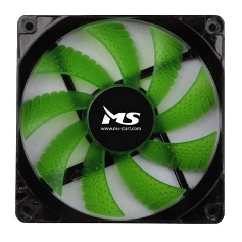 Fan Casing Transparant 12 Cm gigatron ms industrial cooler 12cm fan green led