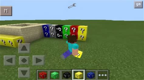 mod in minecraft pe minecraft pe mod block lucky color 0 10 5 mcpe mods