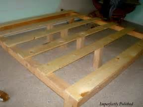Build Your Own Bed Frame Designs Woodworking Ajib