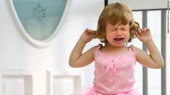 Toddlers outbursts are as normal a biological response to anger and