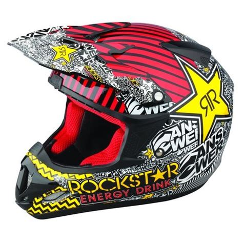 rockstar motocross helmets 169 95 answer comet rockstar helmet 60320