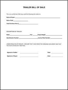 printable bill of sale car manitoba free boat trailer bill of sale form download pdf