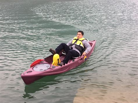 kayak boats foot pedal single foot pedal kayak hands free fishing boatpedal boat