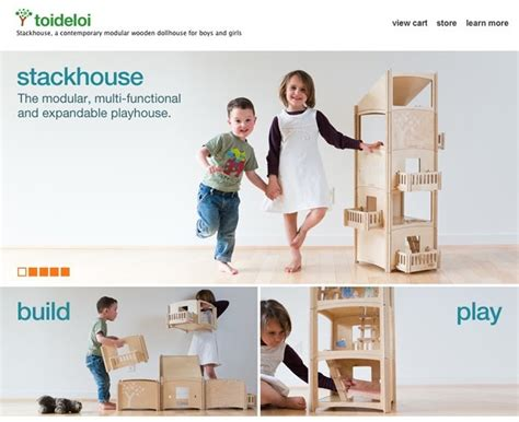 dollhouse b b bb toideloi modern design wooden dollhouse