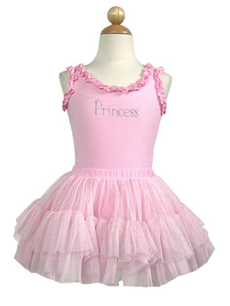 Ep Rahayu Tutu Dress pink princess ruffle tank top tutu