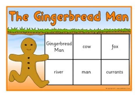 gingerbread man printable resources gingerbread man teaching resources story sack printables