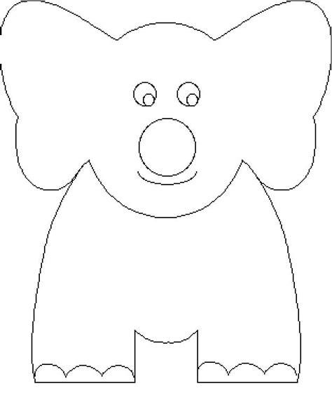 elephant template for preschool kinder elephant template for preschool coloring pages