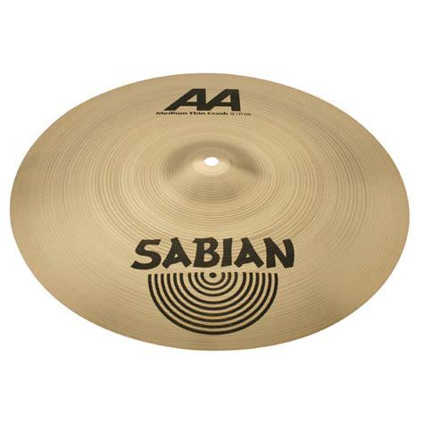 Sabian Aa Bright Crash Cymbal 16 sabian 16 quot aa medium thin crash cymbal crash cymbals steve weiss