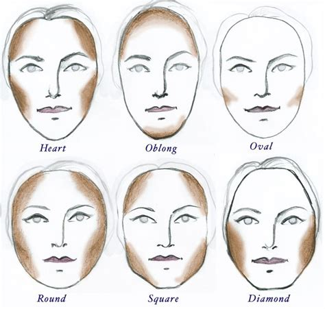 2 a rectangle face shapes pinterest face shapes best 25 face contouring ideas on pinterest makeup