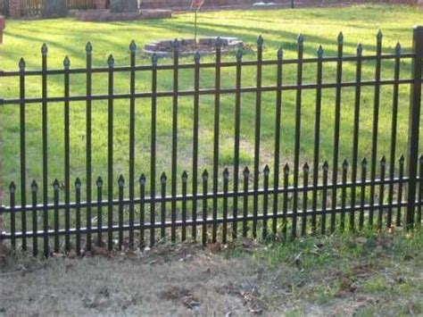 front yard iron fence vinyls front yards and creative on