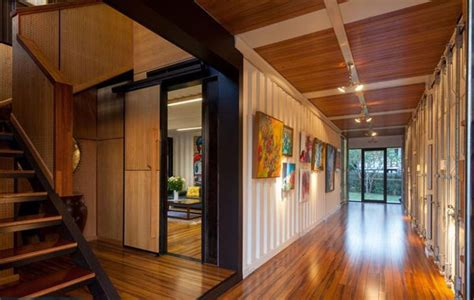 shipping container homes interior shipping containers just got the inevitable mansion