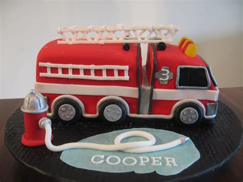 fire truck cakes decoration ideas  birthday cakes