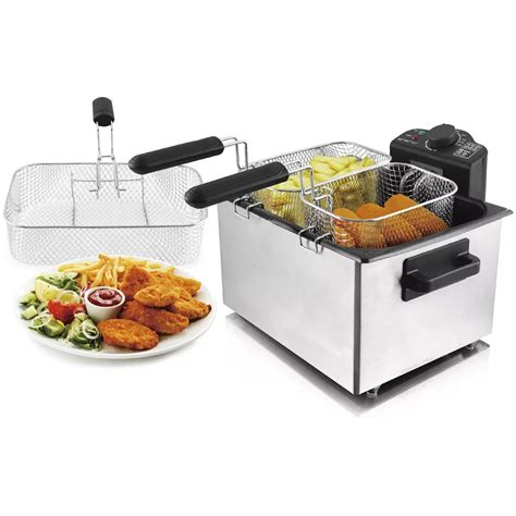 Friteuse öl Wechseln by Emerio Friteuse K 252 Che F 252 R Familie 2000 W Www Vidaxl At