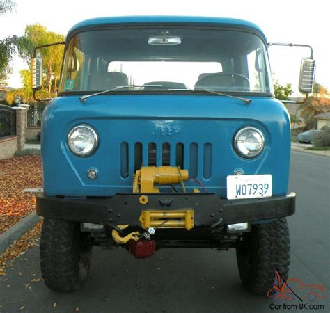 Jeep Forward For Sale 1962 Willys Jeep Fc Forward Flat Bed Truck 4x4 W