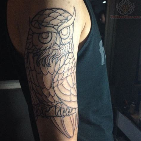 owl half sleeve tattoo half sleeve owl