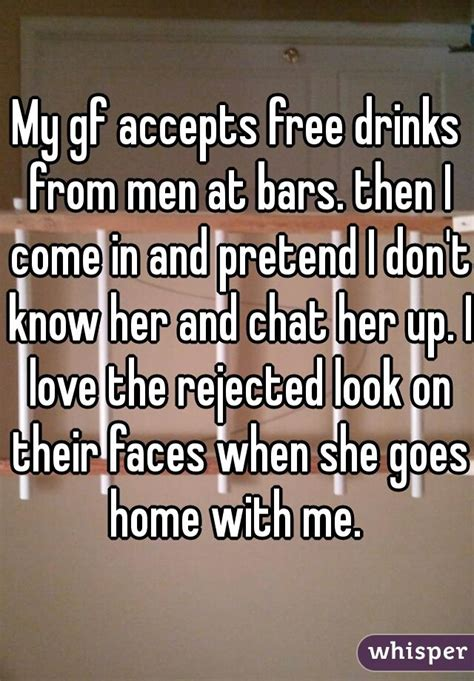Come With Me Cocktail Ae The Look by My Gf Accepts Free Drinks From At Bars Then I Come In
