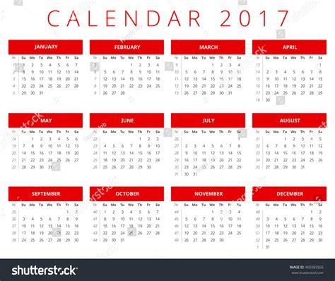 calendar planner july 2017 stock vector illustration of calendar 2017 stock vector illustration 460383565