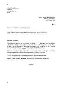 Model De Lettre Refus De Visa Lettre De Refus Par L Employeur De La Demande D Activit 233 224 Temps Plein Du Salari 233 Pas De