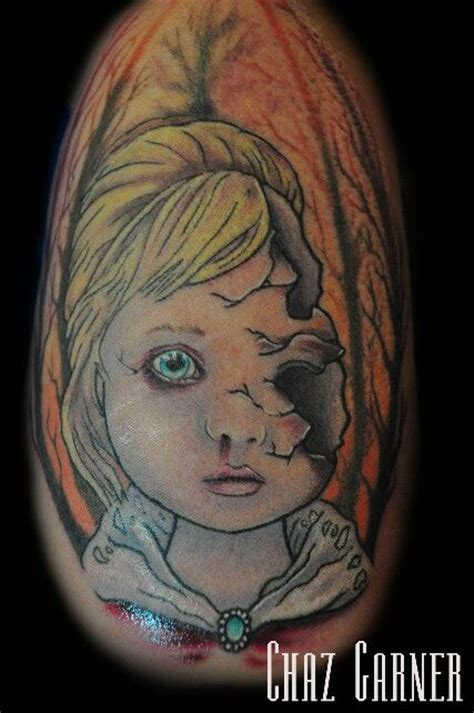 fragile porcelain doll tattoo tattoos by me