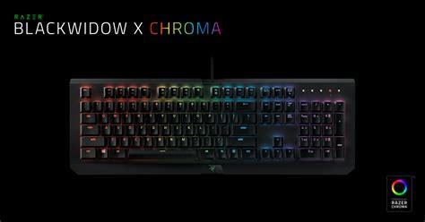 Keyboard Mechanical Black Widow Razer mechanical gaming keyboard razer blackwidow x chroma
