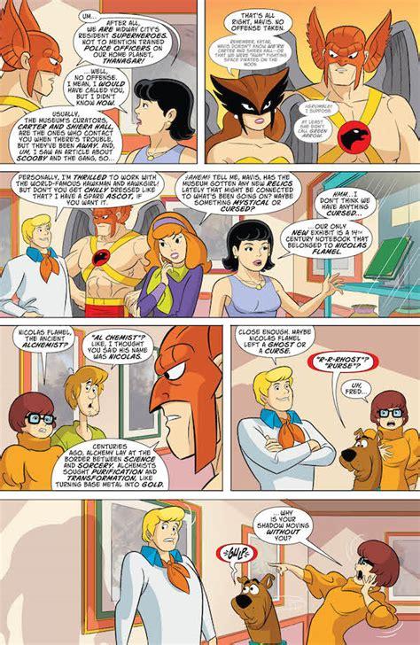 Dc Comics Scooby Doo Team Up 23 April 2017 exclusive preview scooby doo team up 17 comics for