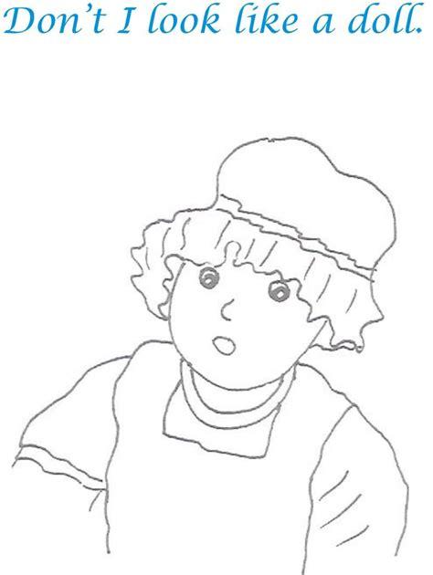 naughty babies coloring printable page for kids 22