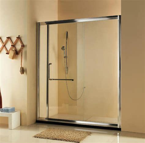 bathroom sliding glass door shower doors starlite aluminium